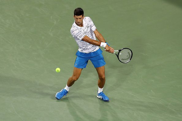 Novak Djokovic moves to the Cincinnati semis with a victory over Pouille