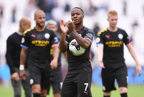 Raheem Sterling hit the ground running for Manchester City with a hattrick against West Ham
