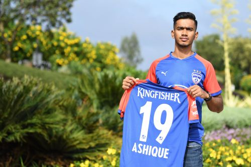 Bengaluru FC's new signing Ashique Kuruniyan