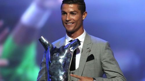 Ronaldo is the record winner of the award