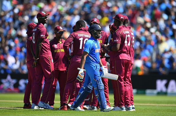 West Indies v India at the ICC Cricket World Cup 2019
