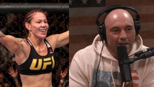 Cris Cyborg; Joe Rogan