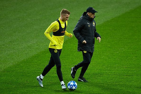 Lucien Favre is widely credited for launching Marco Reus