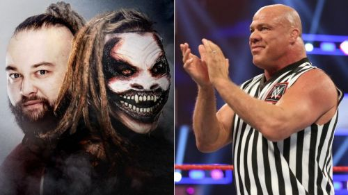 Bray Wyatt attacked Kurt Angle on Raw