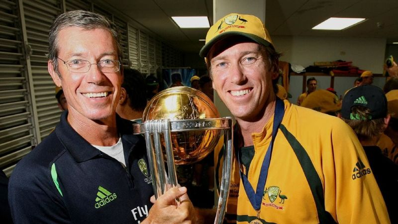 The Australians looked unbeatable at the time when Buchanan coached the side