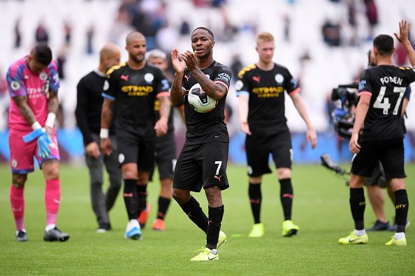 Manchester City romped past West Ham in their first game