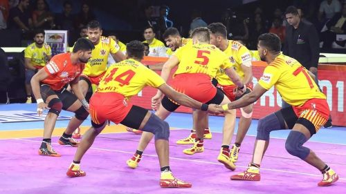 Rohit Baliyan's super raid was a crucial moment in the game