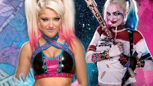 Bliss took inspiration from DC Comics character Harley Quinn when she joined the main roster in 2016.