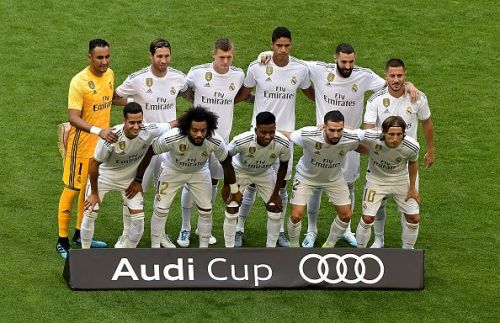 Real Madrid will be looking to join the race for silverware this season