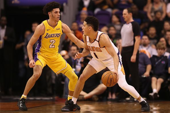 Devin Booker could form a deadly backcourt pairing with the point guard