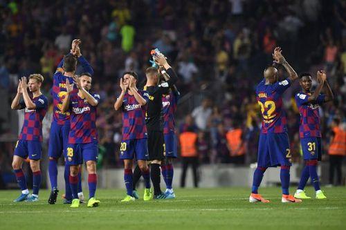 FC Barcelona beat Real Betis convincingly.