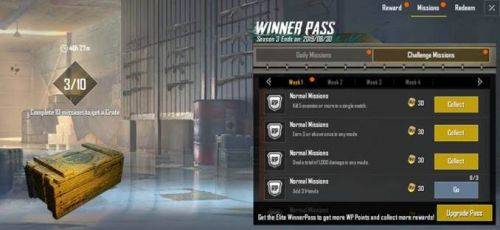 PUBG Mobile Lite Winner Pass