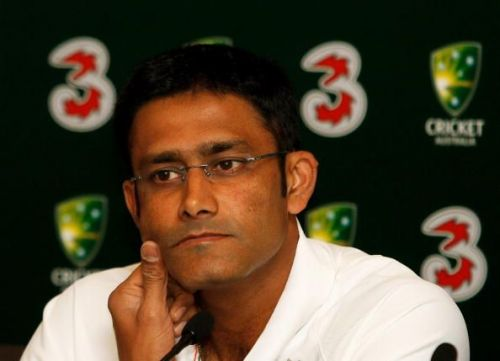 One of India's premier bowlers, Anil Kumble also has a Test century to his credit.