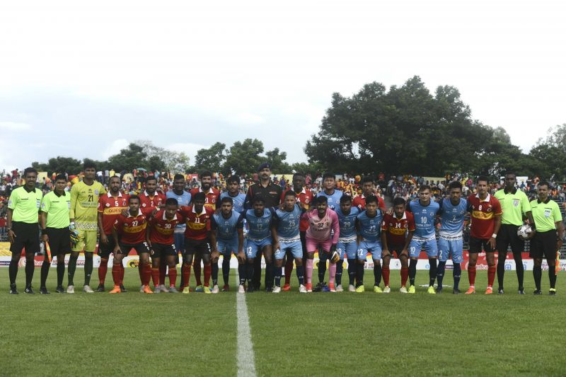 East Bengal and Jamshedpur FC