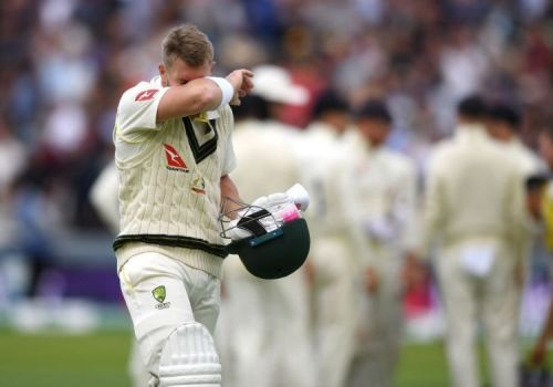 Australia opener David Warner at Lord's