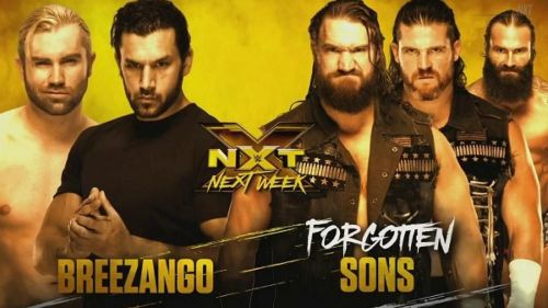 The match that will air on the next episode of NXT was actually taped right before Takeover tonight