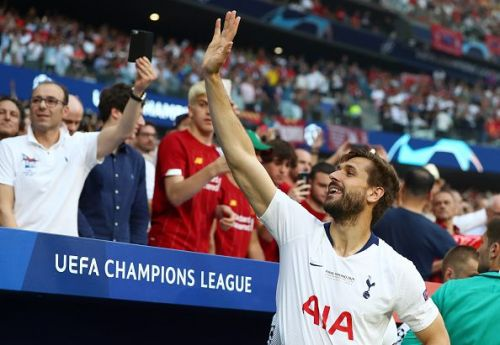 Fernando Llorente's time at North London is coming to an end