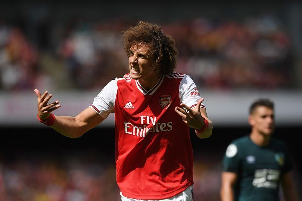 David Luiz v Burnley - Premier League