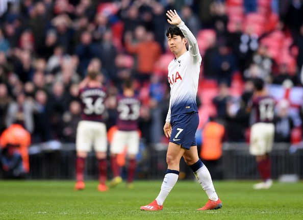 Heung Min Son struck the winner for Spurs in their last game against Newcastle