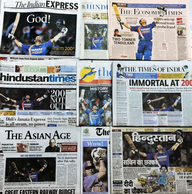 The Newspaper headlines say it all
