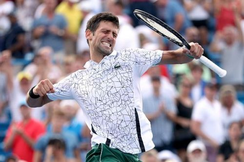 An exuberant Djokovic is headed for the US Open hoping to defend his title