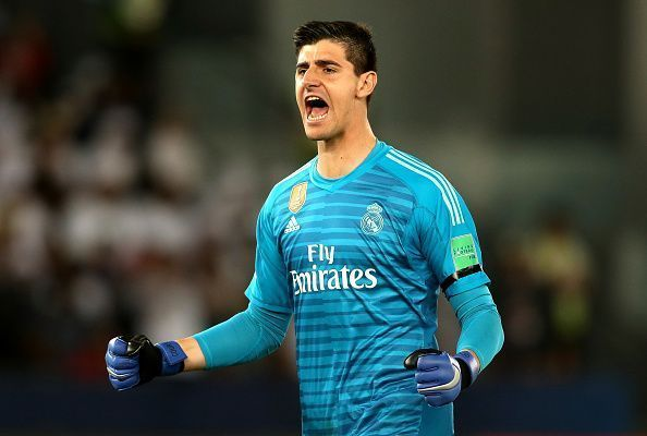 Courtois has stood tall among the wreckage
