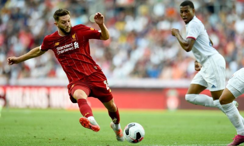 Utility man? Lallana has enjoyed an encouraging pre-season and needed to, given his uncertain future