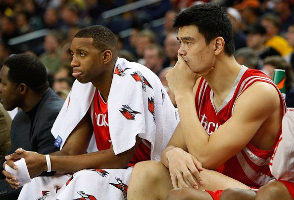Tracy McGrady and Yao Ming