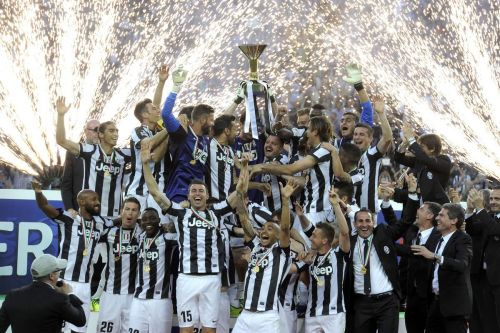 Juventus celebrate their 29th Serie A title in 2012-13
