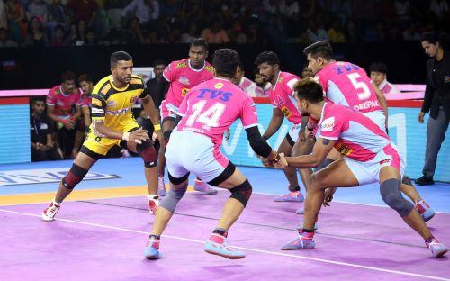 तेलुगु टाइटंस की शानदार जीत