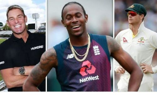War : Jofra Archer vs Steve Smith