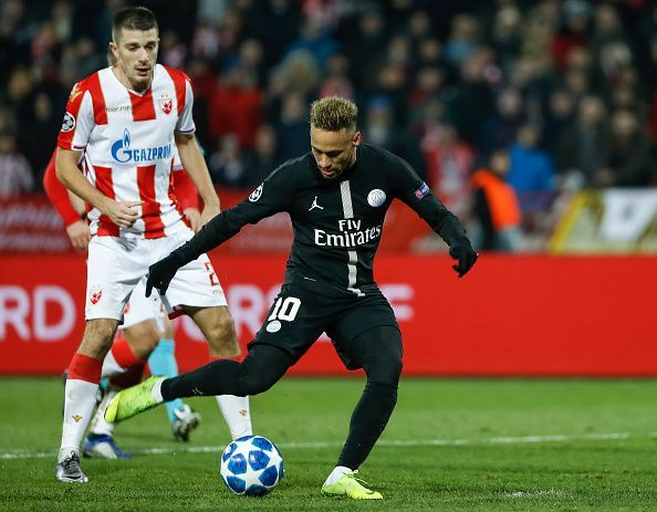 Neymar brings tremendous attacking threat to the team