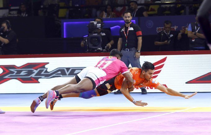 U Mumba annihilated the Pink Panthers with the score 47-21