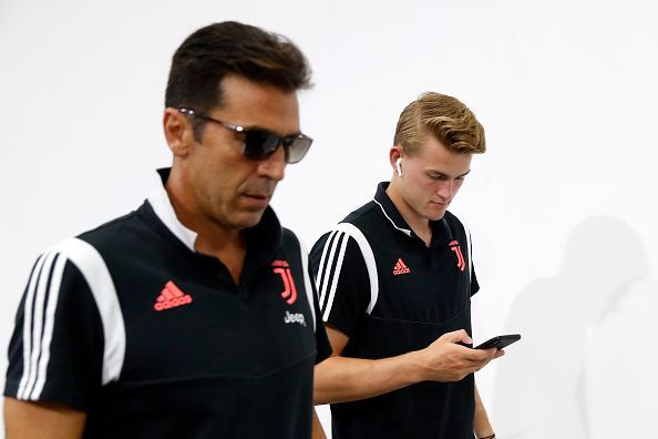 Buffon has a special relationship with Parma and De Ligt will want to start his Juve career with a win