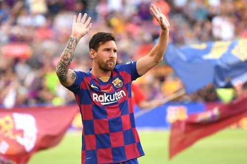 Messi is battling a calf injury
