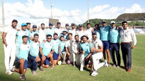 भारत ए ने जीती सीरीज