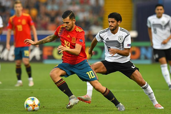 Dani Ceballos arrived at Arsenal on loan from Real Madrid this summer