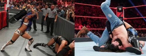 There were a number of stand out botches this week on Raw