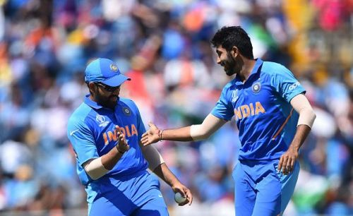 Rohit Sharma is usually very active on the field