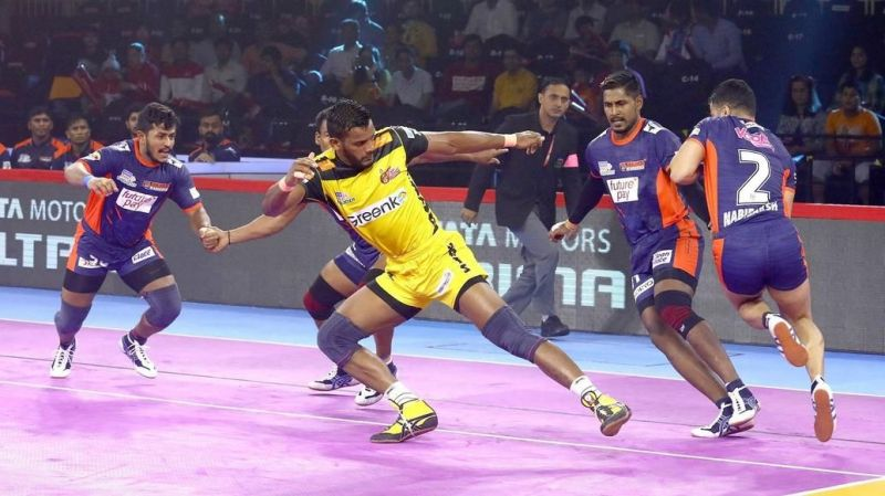 Can Siddharth come good in this game? (Image Courtesy: Pro Kabaddi)