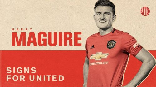 Harry Maguire became the world's most expensive defender with a move to Manchester United