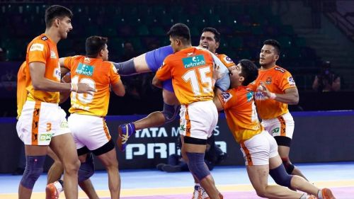 Puneri Paltan's defence finally came to the party