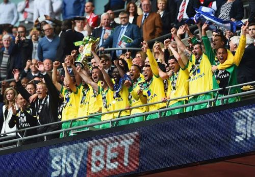 Norwich are one of three promoted teams this season