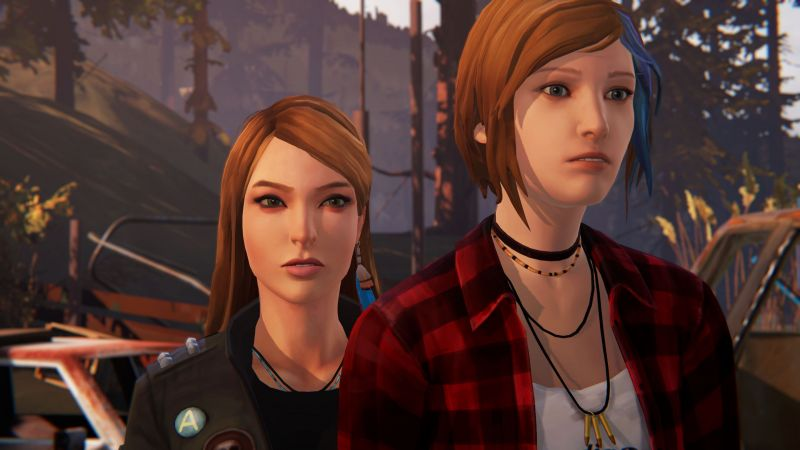 Chloe and Rachel in LIS: Before the Storm