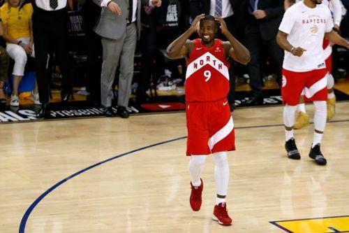 Serge Ibaka was impressive during the NBA Finals