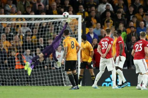 Ruben Neves scored beautifully against Manchester United.