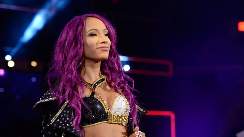 Sasha Banks has been missing since WrestleMania. What if she surfaces at SummerSlam?