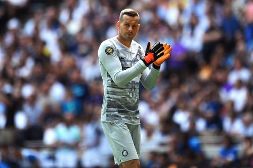 Handanovic is an easy choice in goal for Inter