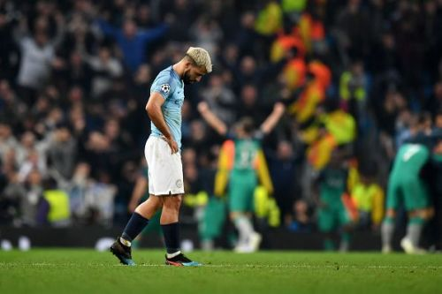 Tottenham edged past Man City on away goals in the 2018-19 UCL Quarterfinal.