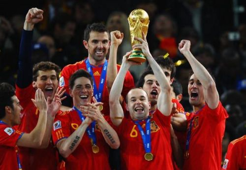 Andres Iniesta won the FIFA World Cup with Spain